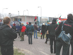 lawaai demo in Vught